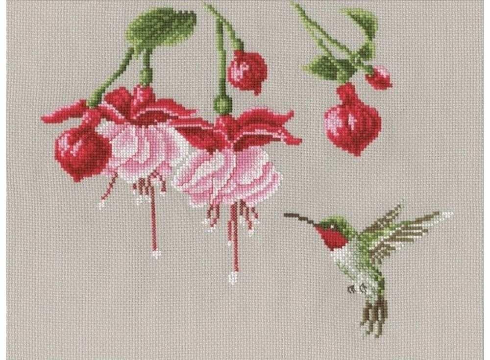 Купить Вышивка крестом, Набор для вышивания «Колибри», Овен, 25x21 см, 554