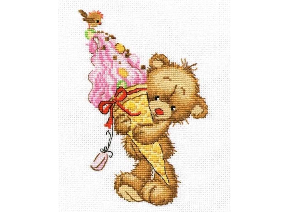 Купить Вышивка крестом, Набор для вышивания «Сладкоежка», Овен, 12x17 см, 740