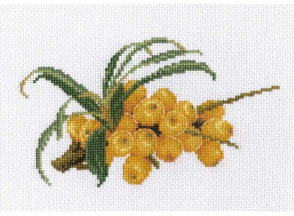 Купить Вышивка крестом, Набор для вышивания «Облепиха», Овен, 19x11 см, 784