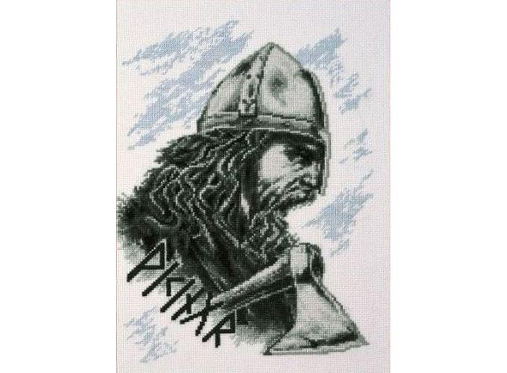 Купить Вышивка крестом, Набор для вышивания «Викинг», Палитра, 19x26 см, 07.015