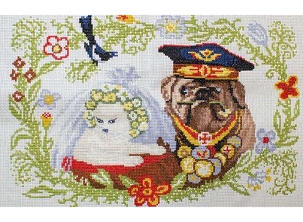 Купить Вышивка крестом, Набор для вышивания «Неравный брак», Астрея (Глурия), 34x23 см, 33003
