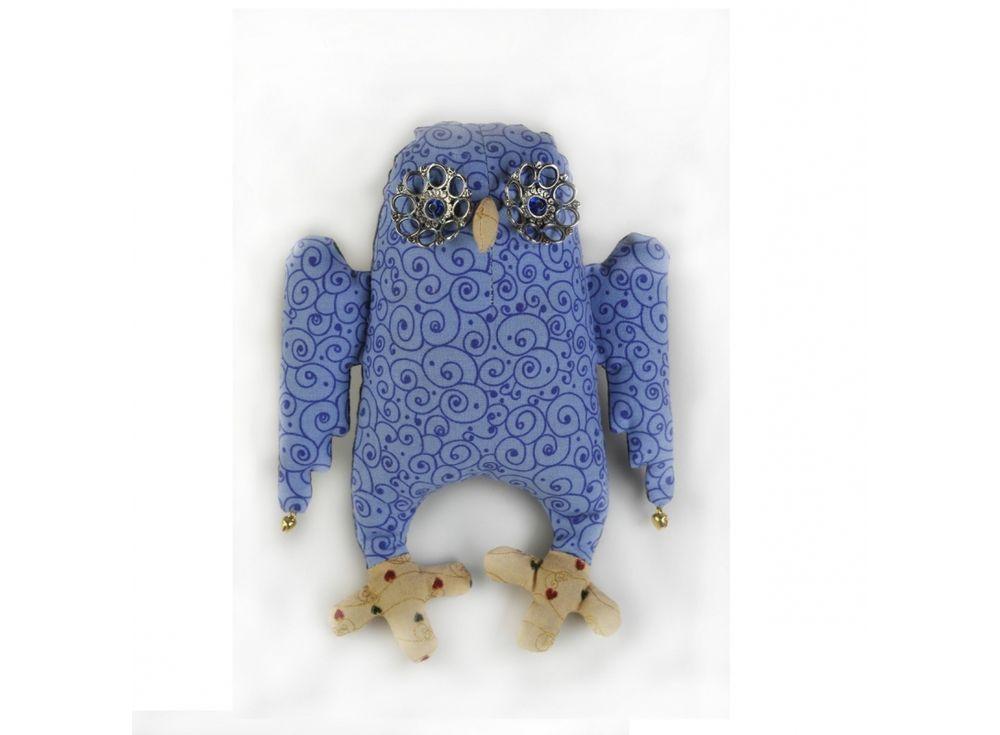 Купить Набор для шитья «Сова-Ангел», Перловка, высота 19 см, ПА-301