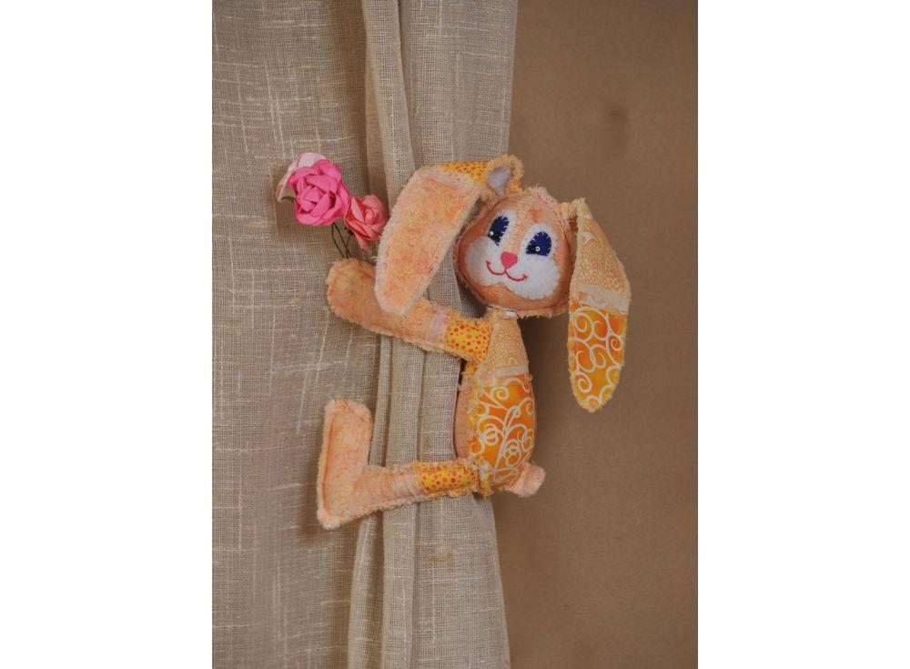 Купить Набор для шитья «Пасхальный кролик», Перловка, высота 36 см, ПМ-804