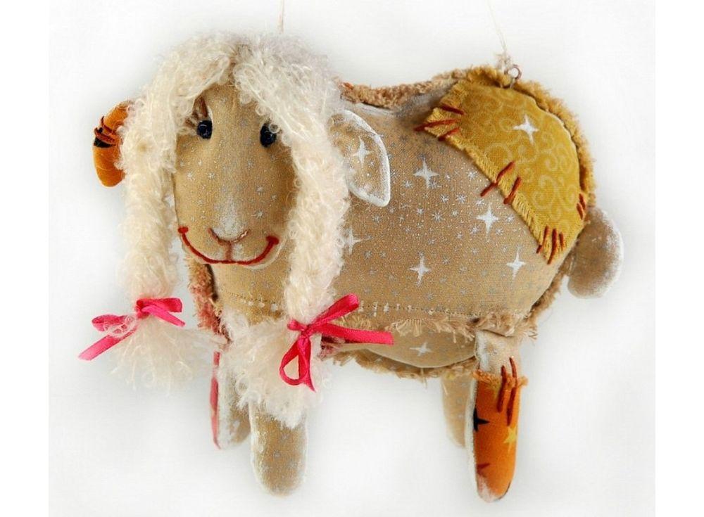 Купить Набор для шитья «Облачная овечка», Перловка, длина 15 см, высота 14 см, ПЧ-505