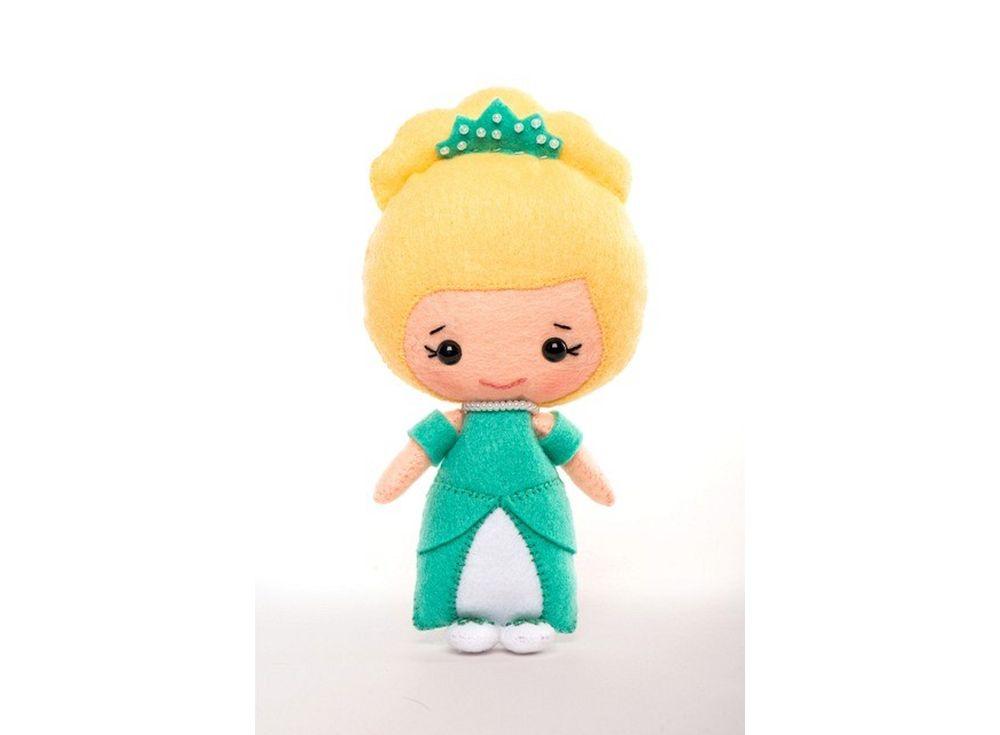 Купить Набор для шитья игрушки «Эльза», ТУТТИ, высота 13 см, 01-08