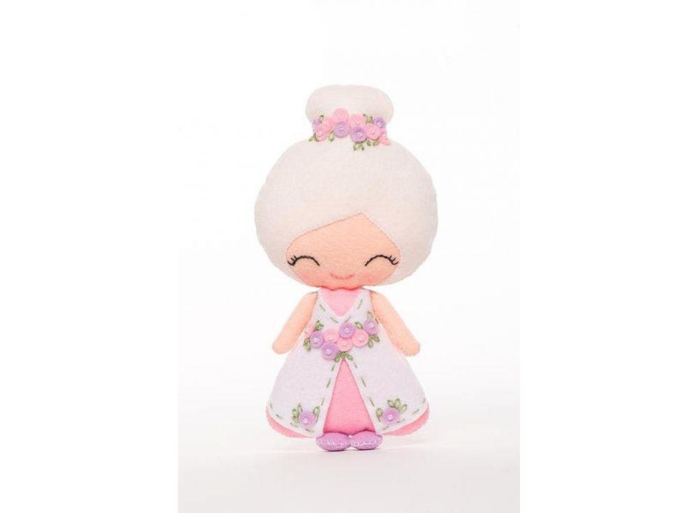 Купить Набор для шитья игрушки «Бэлла», ТУТТИ, высота 17 см, 02-06