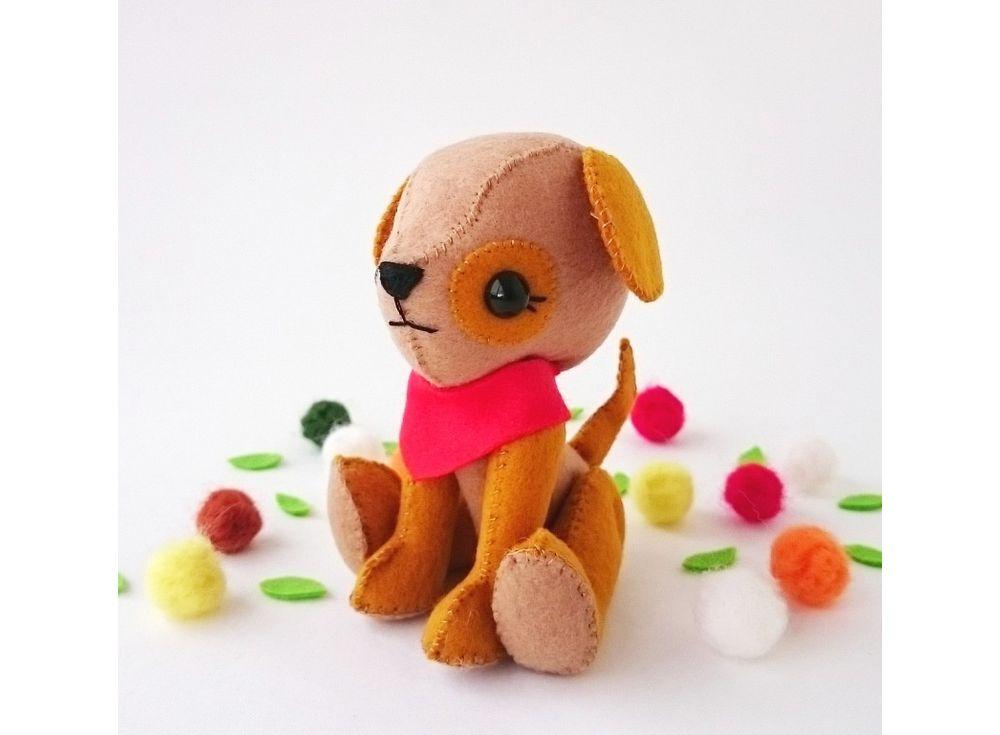 Купить Набор для шитья игрушки «Щеночек», ТУТТИ, высота 13 см, 03-08