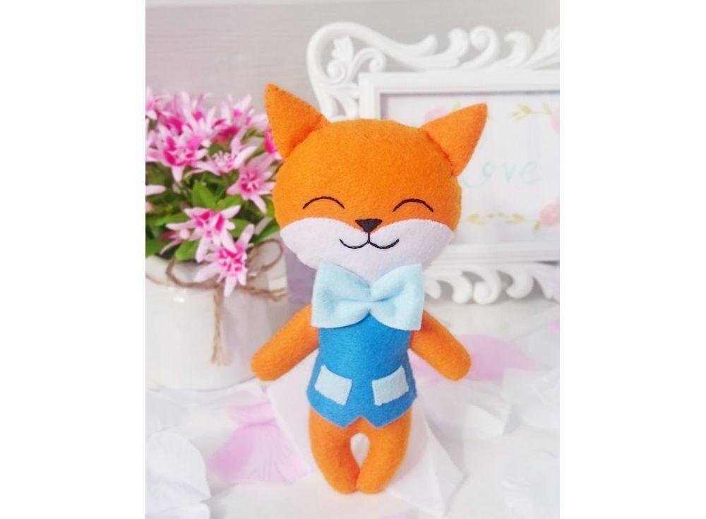 Купить Набор для шитья игрушки «Лисенок Фокс», ТУТТИ, высота 17 см, 03-11