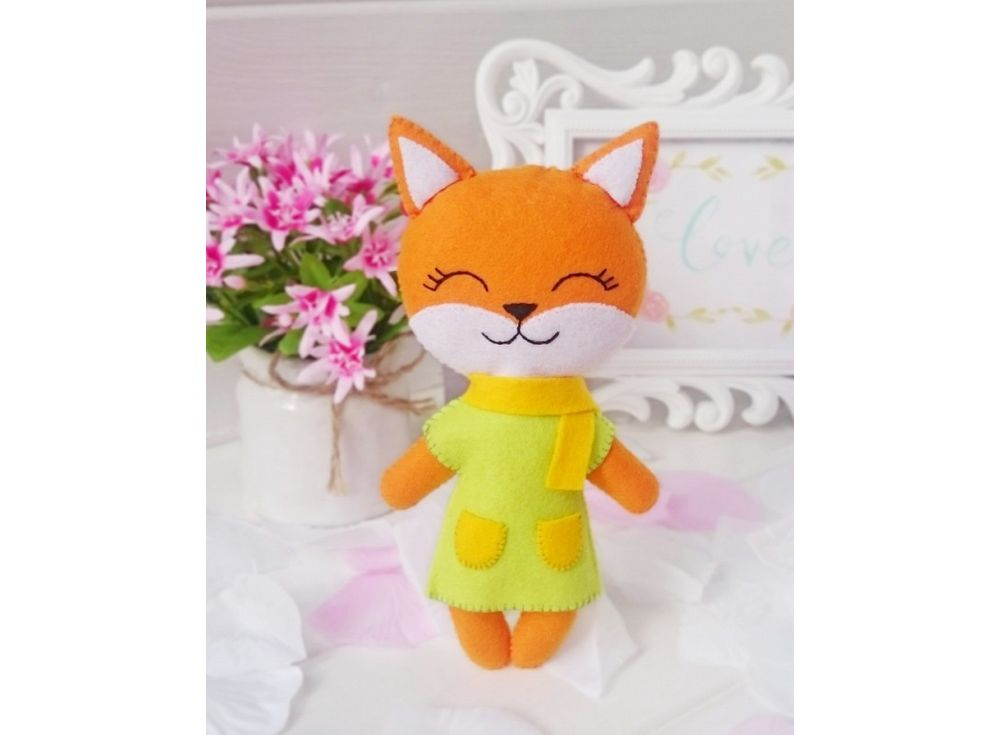 Купить Набор для шитья игрушки «Лисичка Фокси», ТУТТИ, высота 17 см, 03-12