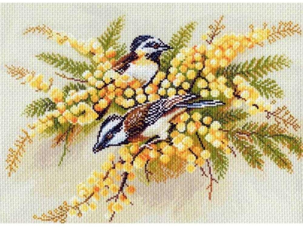 Купить Вышивка крестом, Набор для вышивания «Наступление весны», Матренин Посад, 37x49 см, 1183/Н