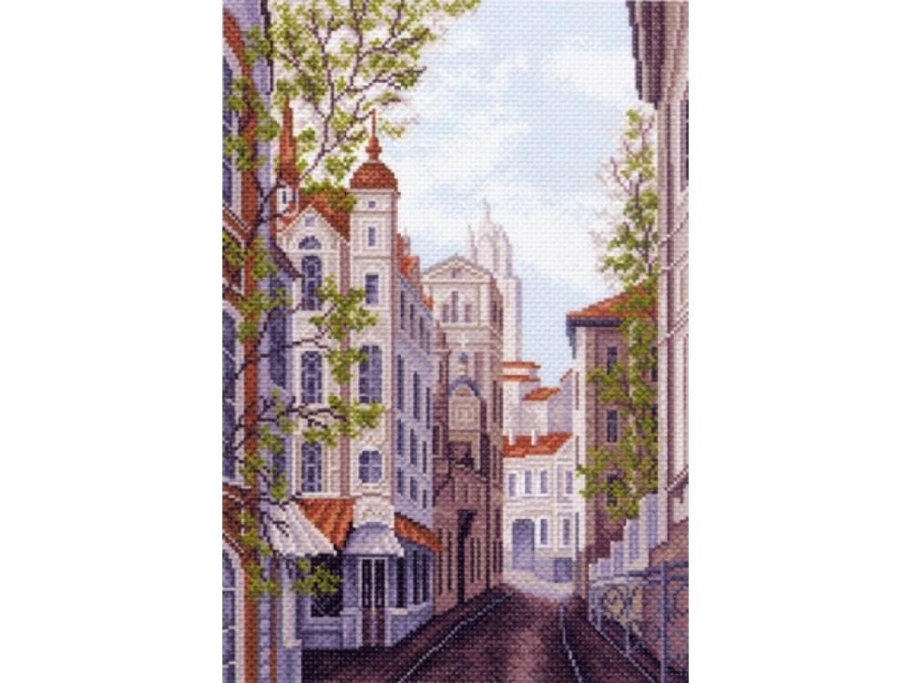 Купить Вышивка крестом, Набор для вышивания «Московские улочки», Матренин Посад, 37x49 см, 1482/Н