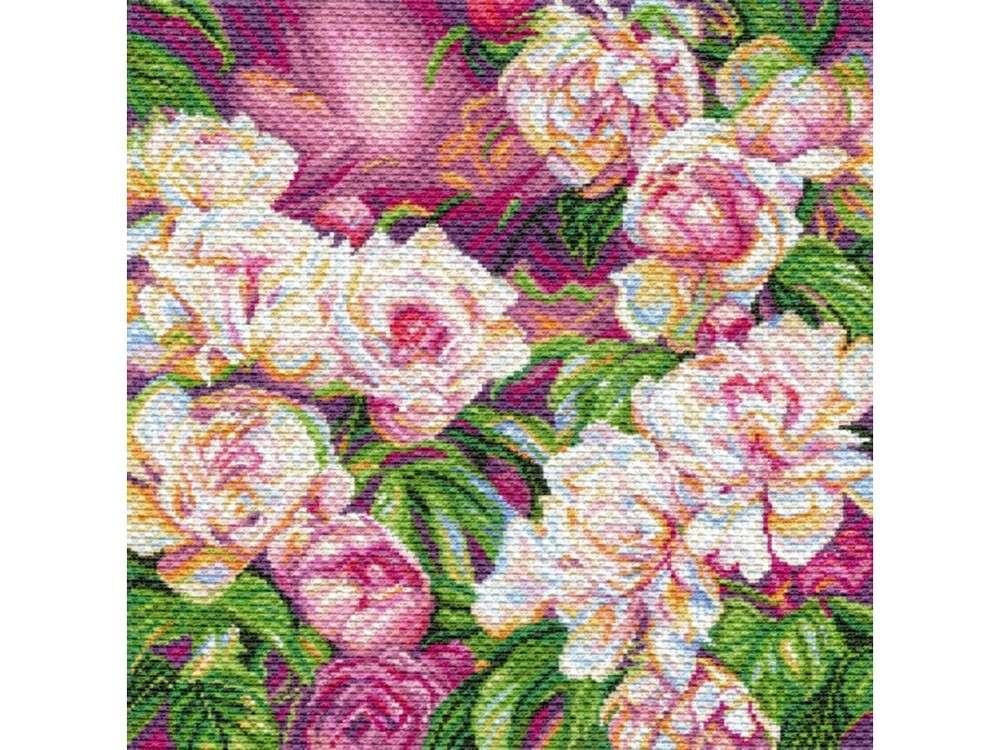 Купить Вышивка крестом, Набор для вышивания «Букет радости», Матренин Посад, 41x41 см, 1753/Н