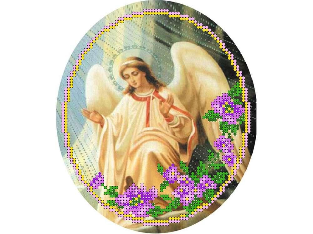 Купить Вышивка бисером, Набор вышивки бисером «Ангел 2», Матренин Посад, 27x24 см, 0023/БП