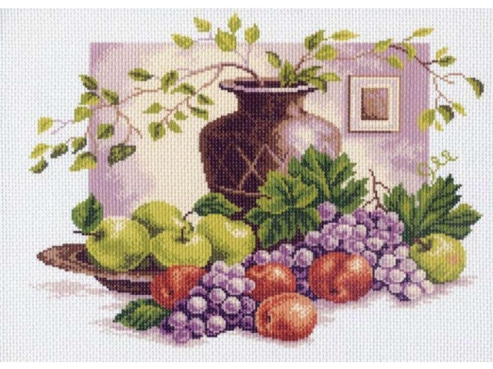 Купить Вышивка крестом, Набор для вышивания «Натюрморт», Матренин Посад, 37x49 см, 0602/Н