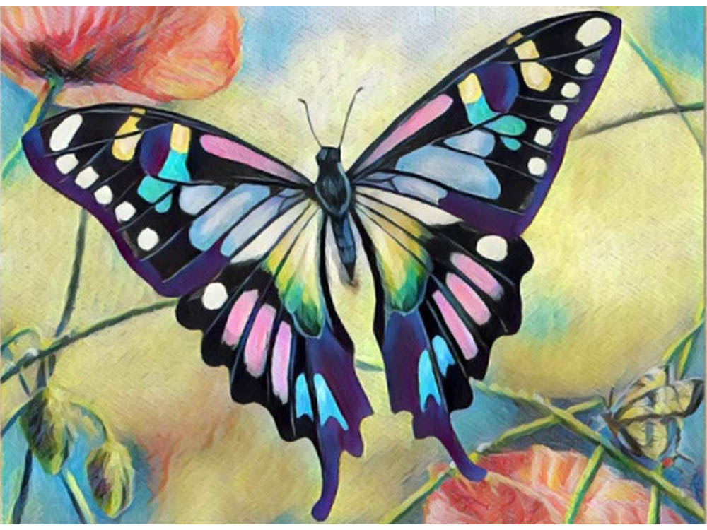 Купить Мозаика из пайеток «Бабочка», Color KIT, 30x40 см, CME008