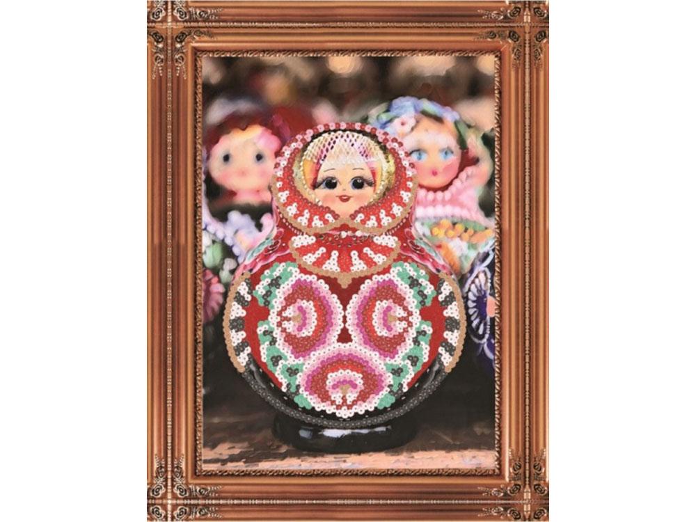 Купить Мозаика из пайеток «Матрешка», Color KIT, 30x40 см, CME012