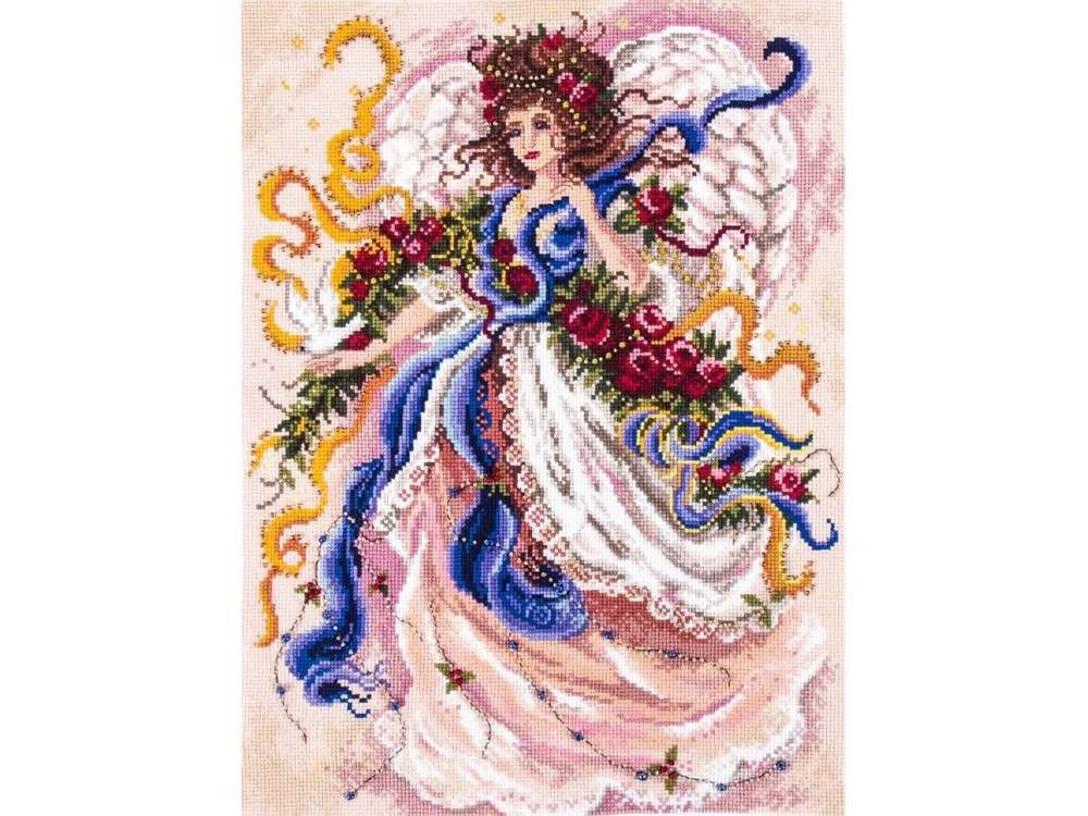 Купить Смешанная техника, Набор для вышивания «Фея вьюги», Матренин Посад, 37x49 см, 0037/БН