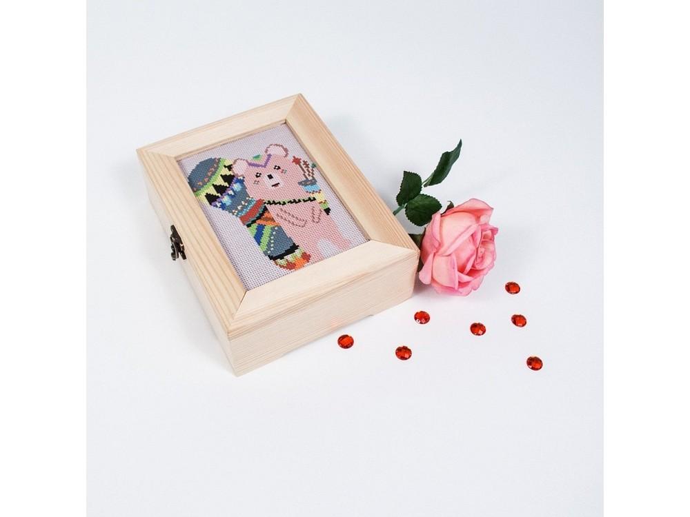 Смешанная техника, Набор для вышивания «Этномедвежонок», Матренин Посад, 18x13 см, 12007  - купить со скидкой