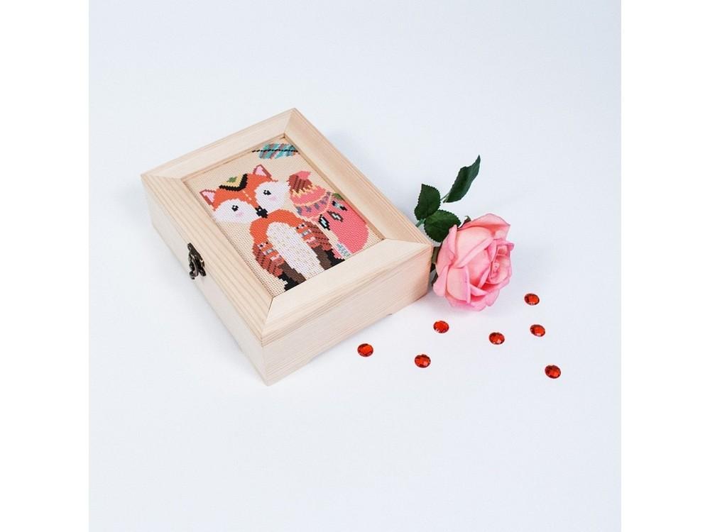 Купить Смешанная техника, Набор для вышивания «Этнолисичка», Матренин Посад, 18x13 см, 12008