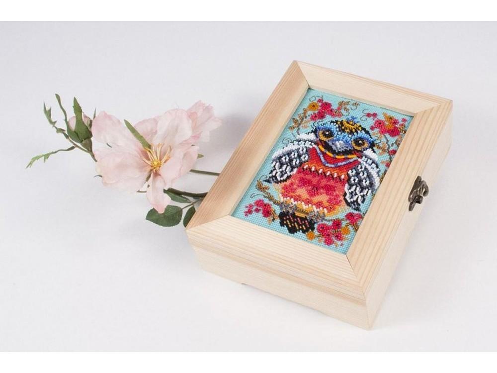 Купить Смешанная техника, Набор для вышивания «Символ удачи», Матренин Посад, 18x13 см, 12009