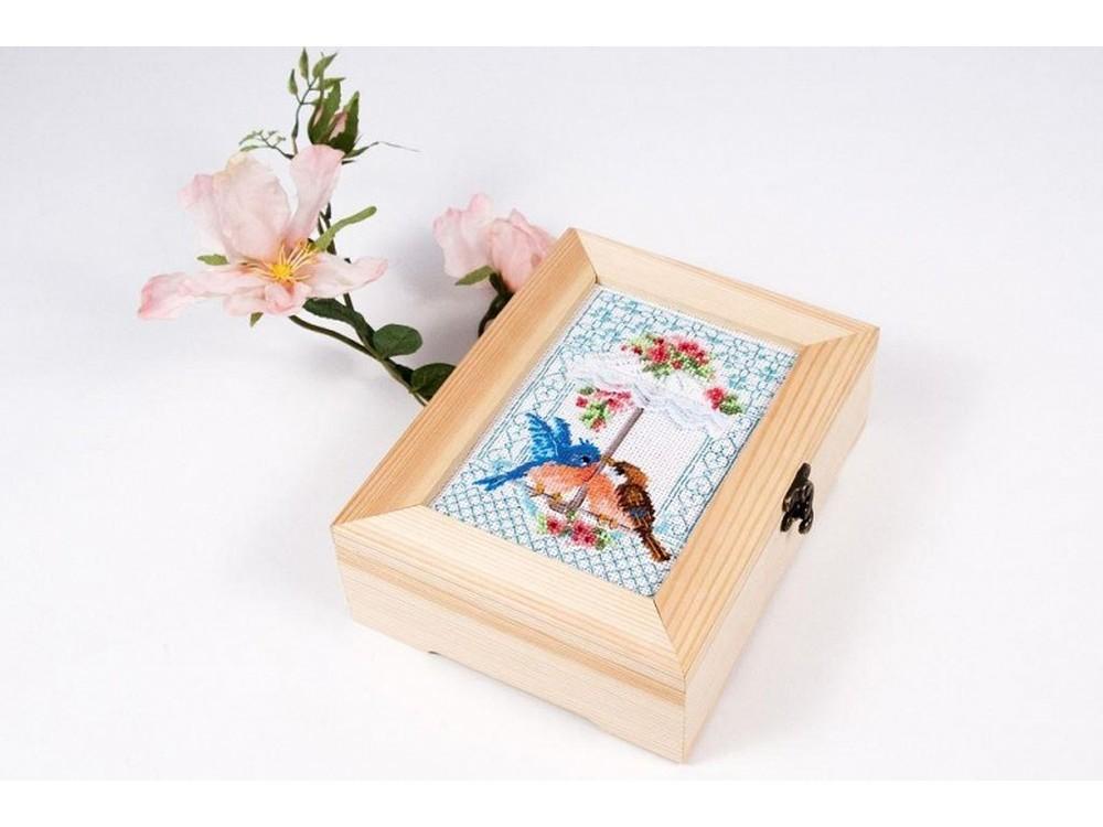 Купить Смешанная техника, Набор для вышивания «Погода в доме», Матренин Посад, 18x13 см, 12012