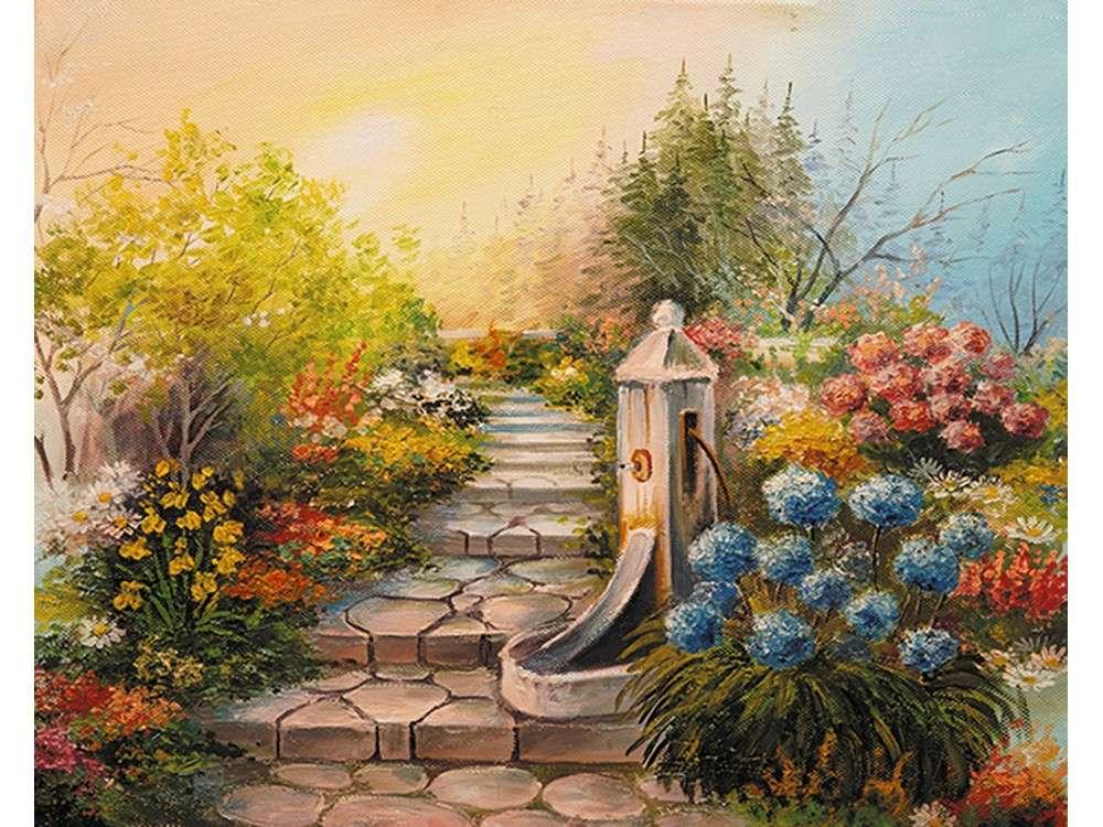 Купить Смешанная техника, Набор для вышивания «Дорога к небесам», Матренин Посад, 37x49 см, 7035/Л