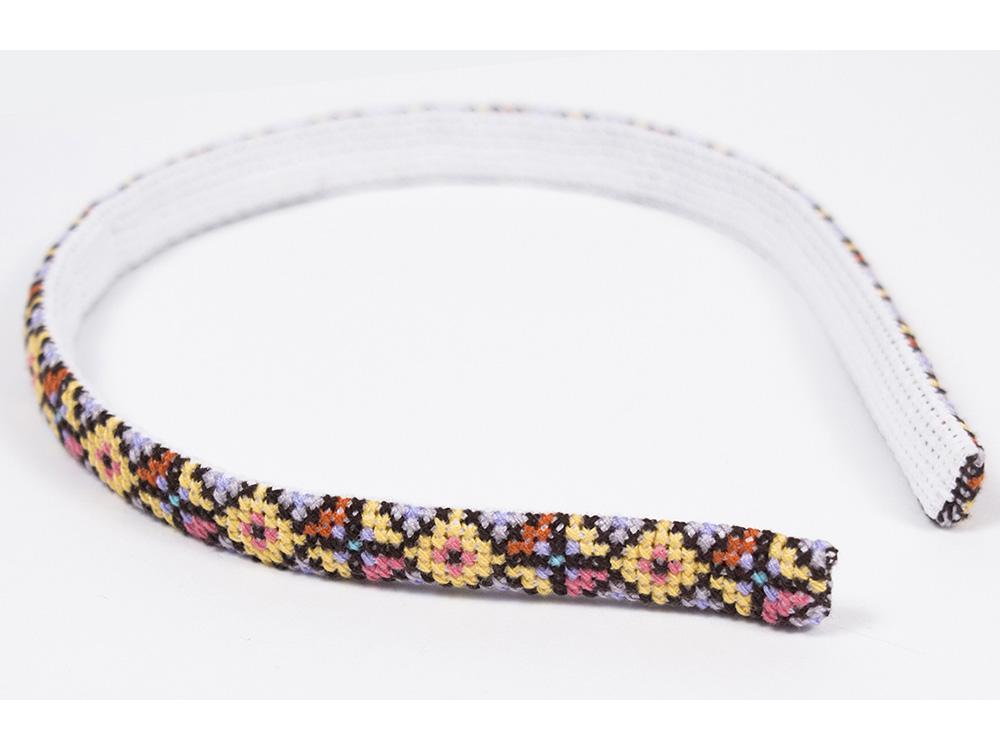 Купить Смешанная техника, Набор для вышивания «Ободок Лесная нимфа», Матренин Посад, 5x40 см, 5360