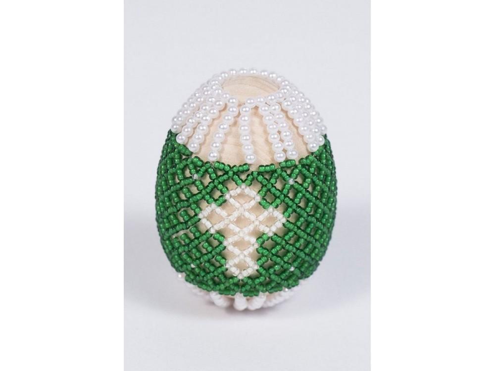 Купить Набор для бисероплетения «Пасхальное яйцо. Светлый праздник», Матренин Посад, 4, 6x6, 2 см, 8403