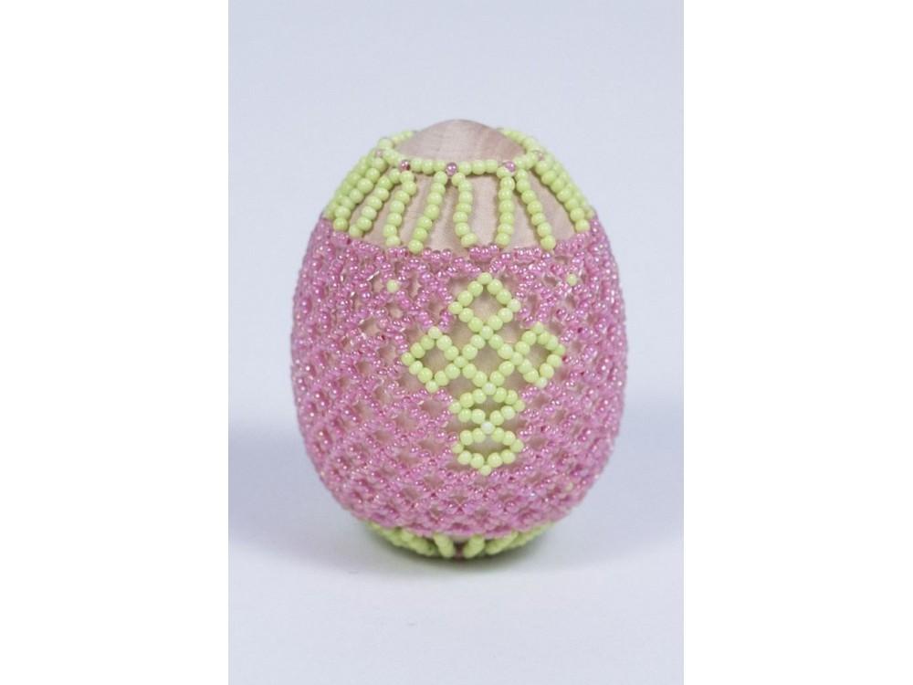 Купить Набор для бисероплетения «Пасхальное яйцо. Пасха», Матренин Посад, 4, 6x6, 2 см, 8404
