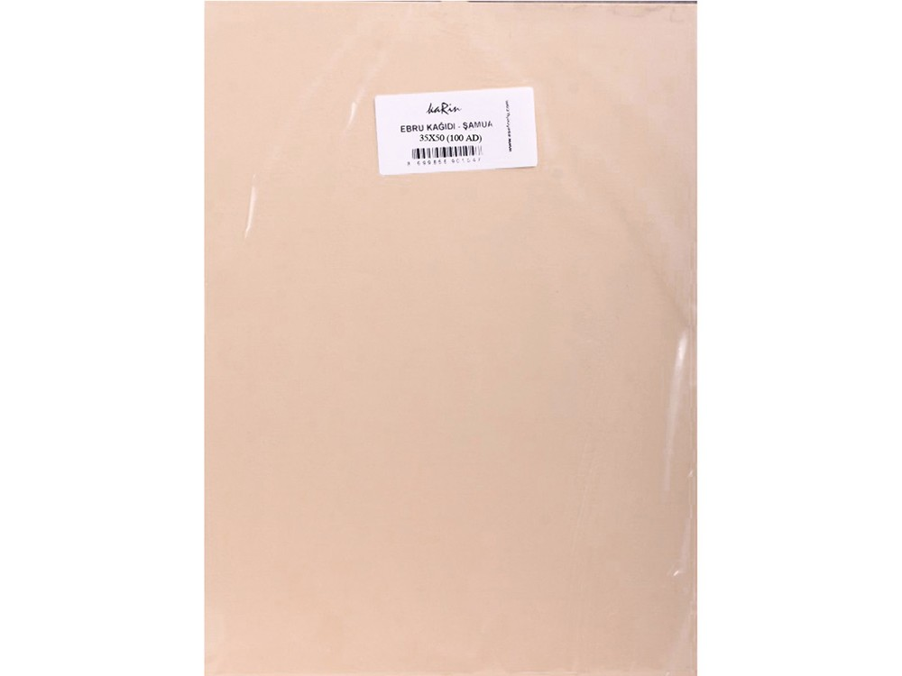 Купить Бумага для эбру шамуа 35x50 см (100 листов), Karin, 51 CHAMOIS