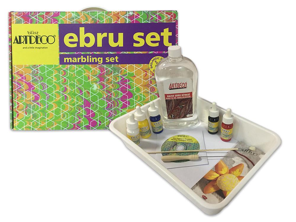 Купить Набор для эбру 5 цветов, ArtDeco, Y-016 ES-2