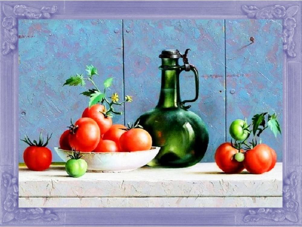 Купить Вышивка бисером, Набор вышивки бисером «Итальянский натюрморт», Color KIT, 30x40 см, VS010