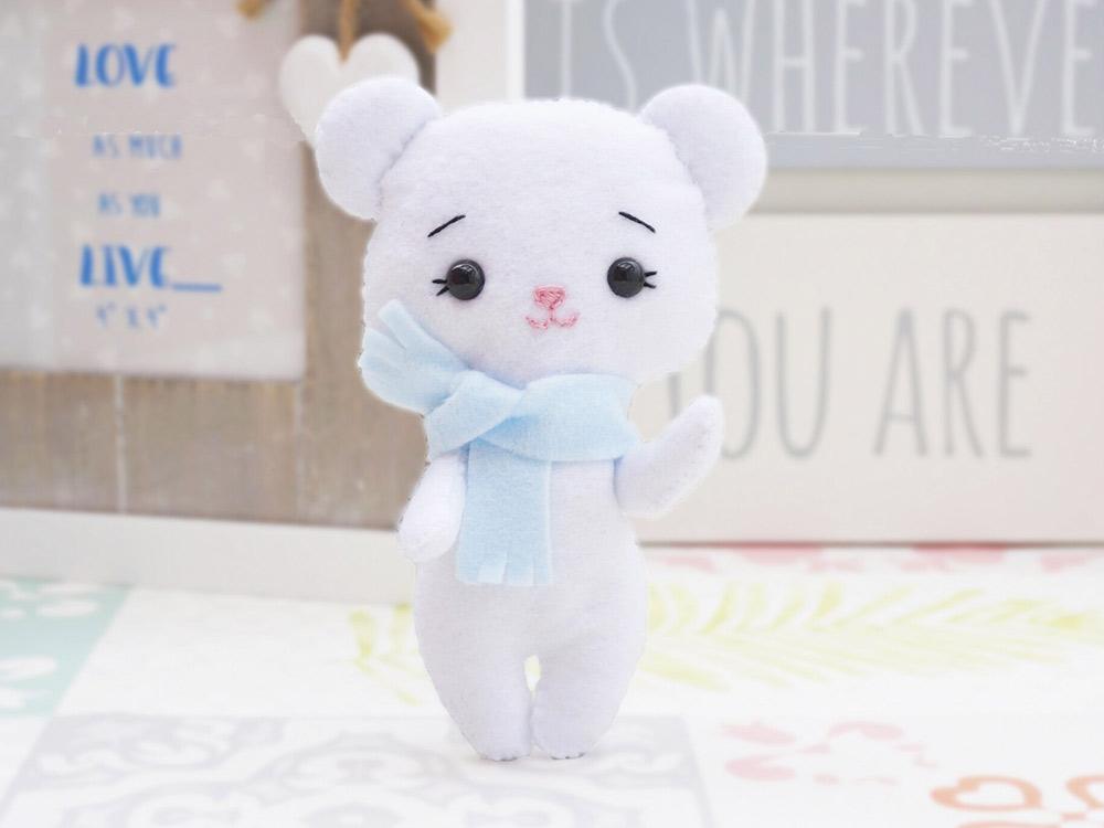 Купить Набор для шитья игрушки «Медвежонок Умка», ТУТТИ, высота 12 см, 05-25