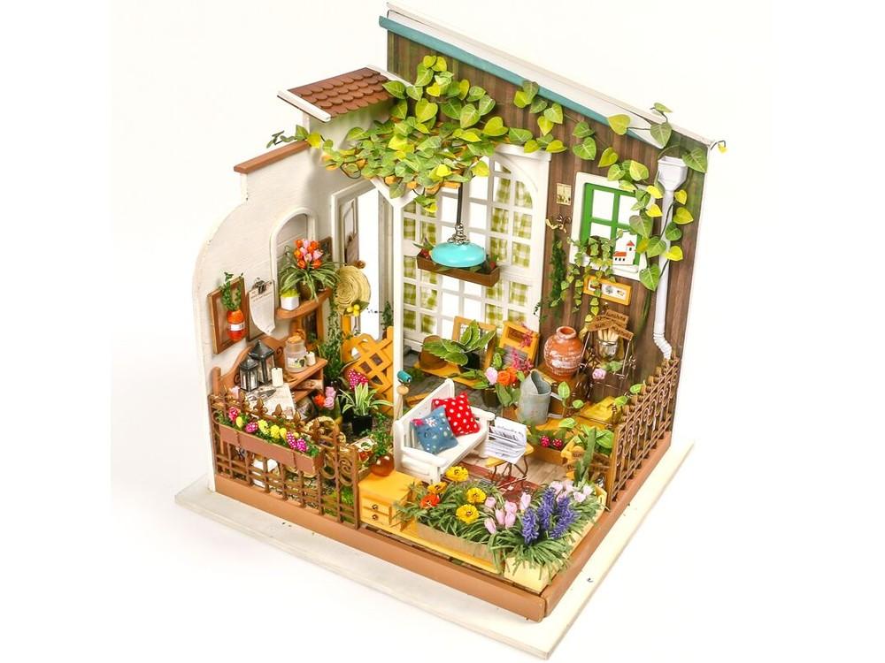 Купить Набор для создания миниатюры (румбокс) «Сад», Цветной, 19, 5x18, 3x21 см, DG108