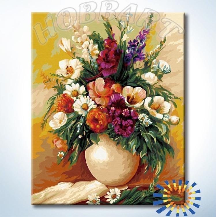 Купить Картина по номерам «Букет ароматов», Hobbart, DZ4050055-Lite