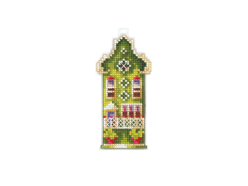 Купить Вышивка крестом, Набор для вышивания «Домики. Оливковый домик», Сделай своими руками, 5x10 см, Д-16