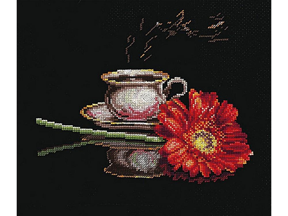 Купить Вышивка крестом, Набор для вышивания «Кофе для неё», Сделай своими руками, 27x22 см, К-26