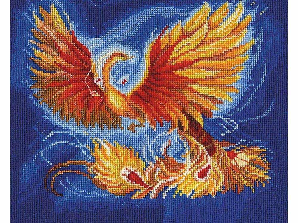Купить Вышивка крестом, Набор для вышивания «Птица счастья», Сделай своими руками, 23x18 см, П-22
