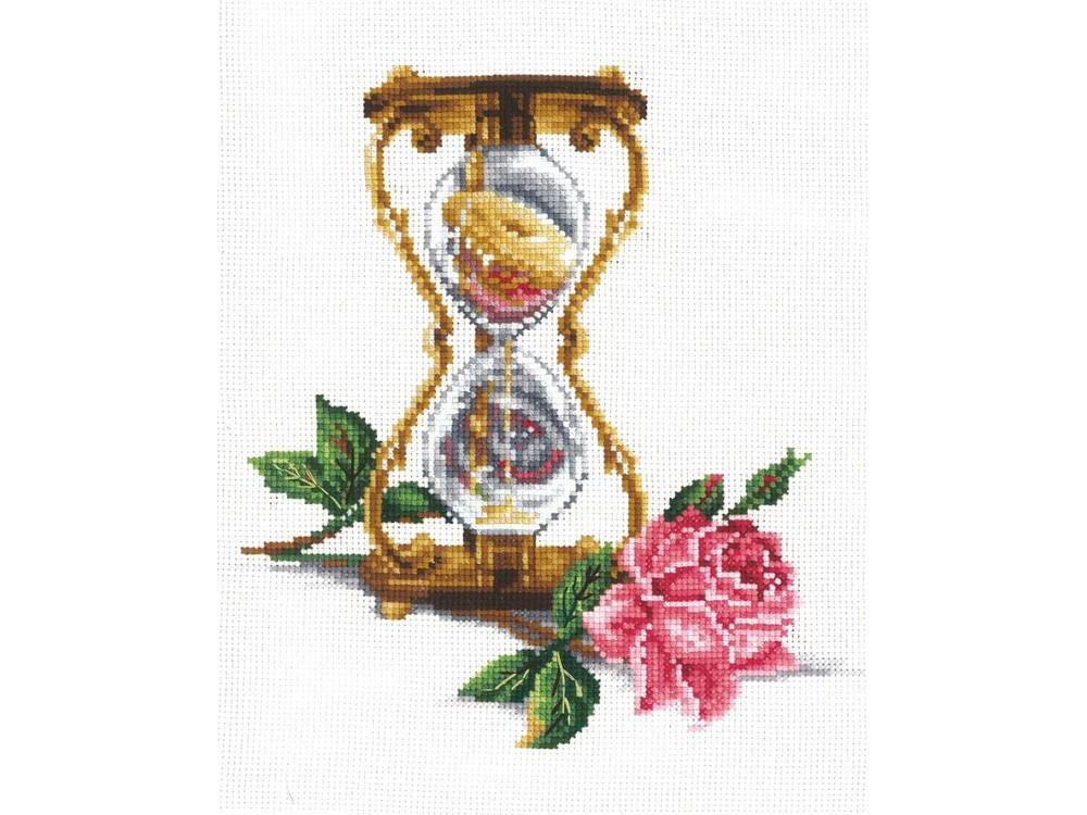 Купить Вышивка крестом, Набор для вышивания «Песочные часы», Сделай своими руками, 20x23 см, П-37