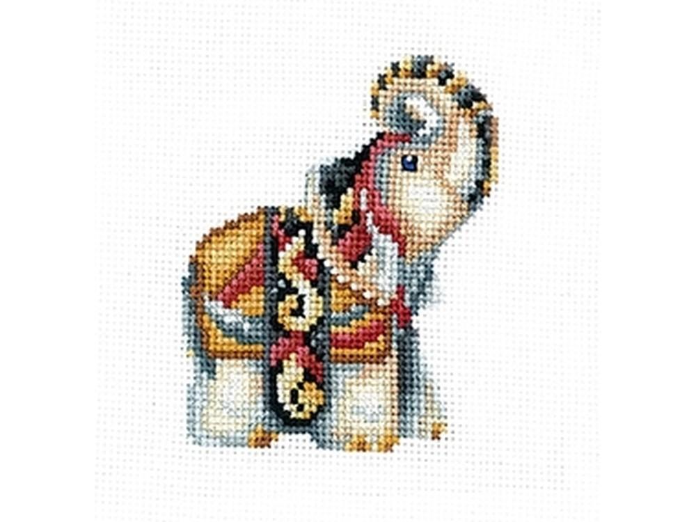 Купить Вышивка крестом, Набор для вышивания «Статуэтки. Слон», Сделай своими руками, 12x12 см, С-32