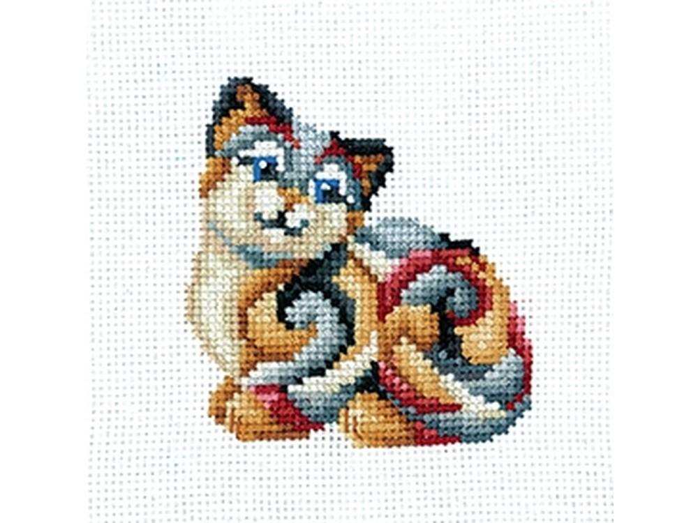 Купить Вышивка крестом, Набор для вышивания «Статуэтки. Кошка», Сделай своими руками, 12x12 см, С-33