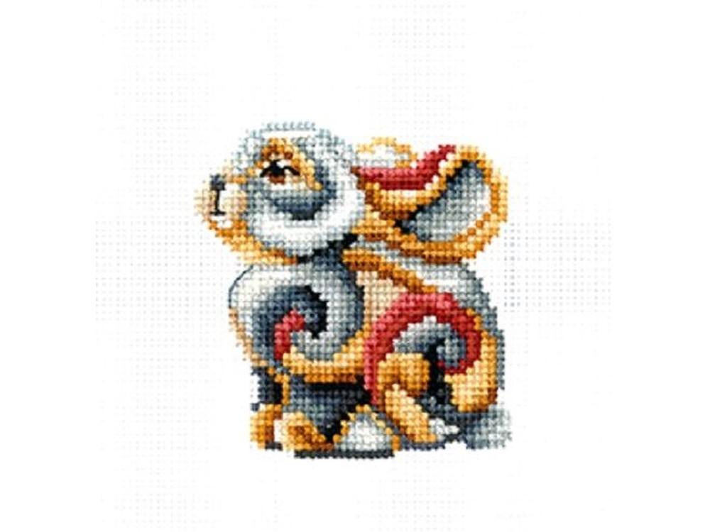 Купить Вышивка крестом, Набор для вышивания «Статуэтки. Кролик», Сделай своими руками, 12x12 см, С-35