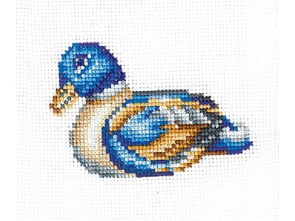 Купить Вышивка крестом, Набор для вышивания «Статуэтки. Утка», Сделай своими руками, 12x10 см, С-40