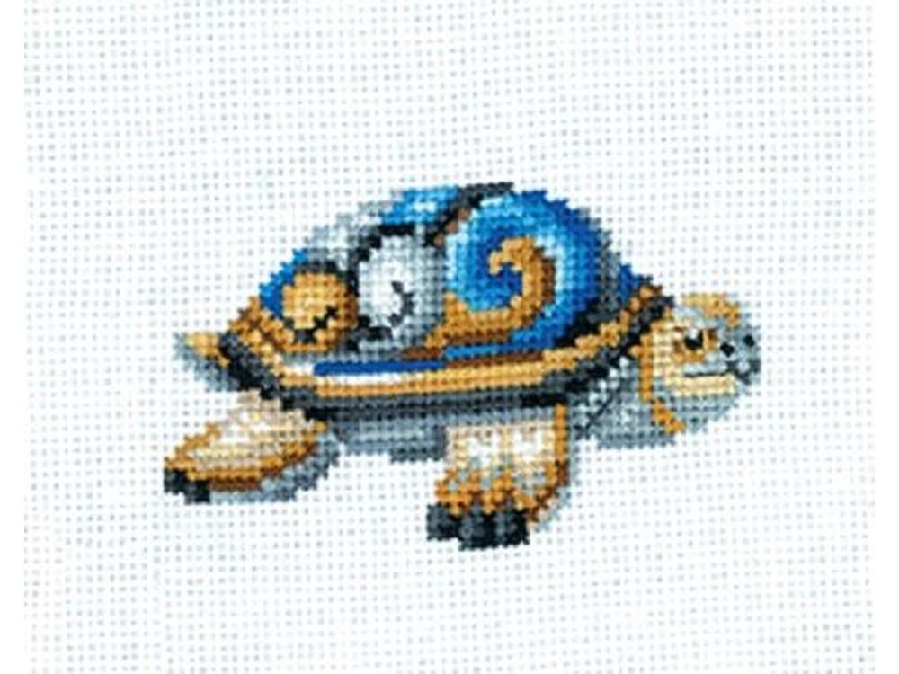 Купить Вышивка крестом, Набор для вышивания «Статуэтки. Черепаха», Сделай своими руками, 12x10 см, С-41