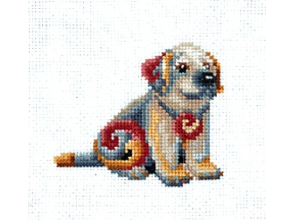 Купить Вышивка крестом, Набор для вышивания «Статуэтки. Собака», Сделай своими руками, 12x12 см, С-42