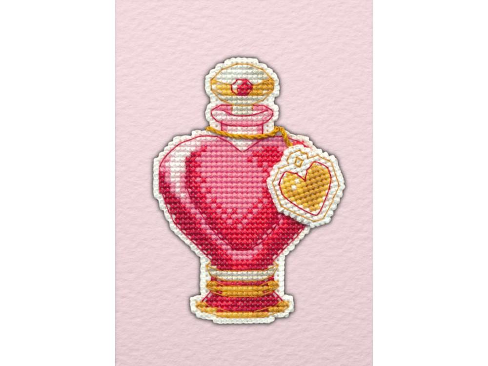 Купить Вышивка крестом, Набор для вышивания «Магнит. Любовное зелье», Овен, 6, 2x9, 2 см, 1106