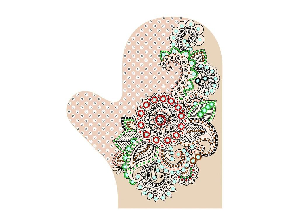 Купить Смешанная техника, Набор для вышивания «Варежка. Шахерезада», Матренин Посад, 18x25 см, 8308