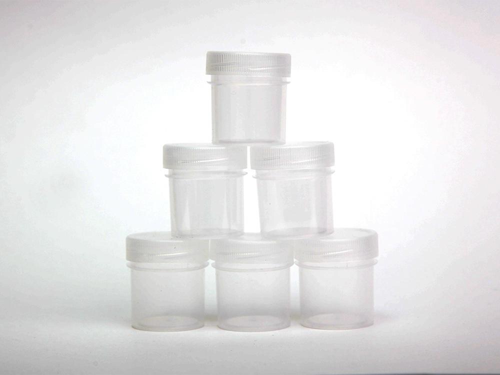 Купить Баночки для краски по 20 мл (6 шт.), Эбру-Профи, 4x3, 5 см (1 баночка), пластик, 04005