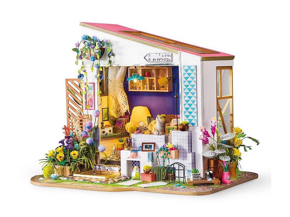 Купить Набор для создания миниатюры (румбокс) «Летний домик», Цветной, 26, 8x29x21, 6 см, DG11