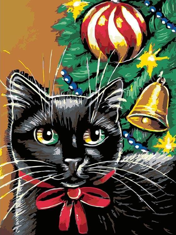 Купить Картина по номерам «Скоро Новый год», Живопись по Номерам, Китай, A133